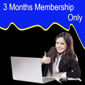 3 Months Membership Only